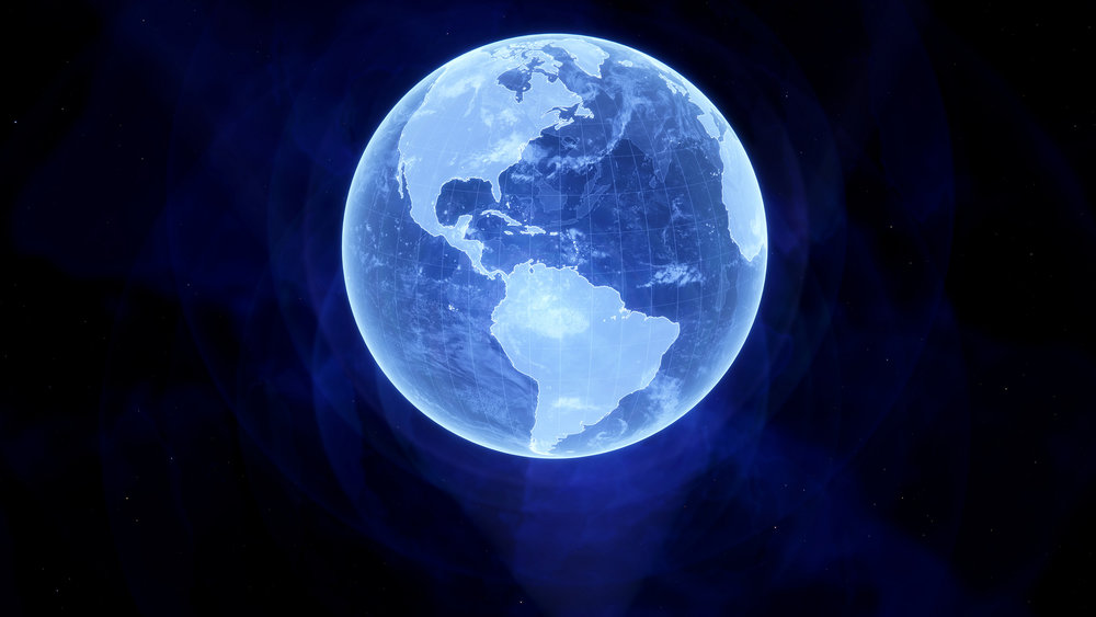 Hologram Earth - Image Credit: Kevin Gill/flickr