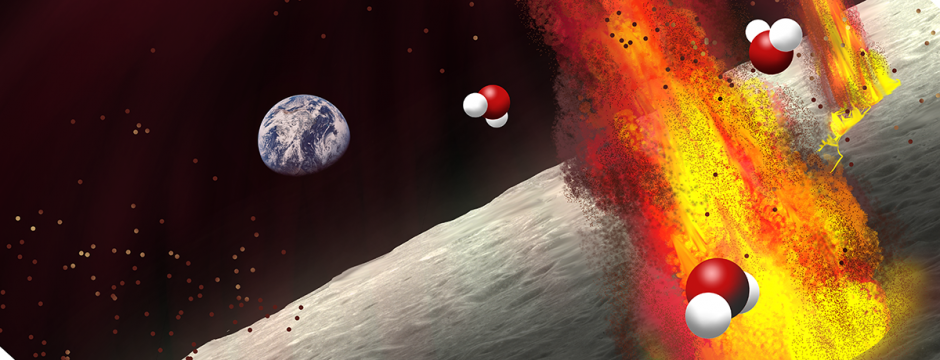 Evidence from ancient volcanic deposits suggests that lunar magma contained substantial amounts of water, bolstering the idea that the Moon's interior is water-rich. - Image Credit: Olga Prilipko Huber