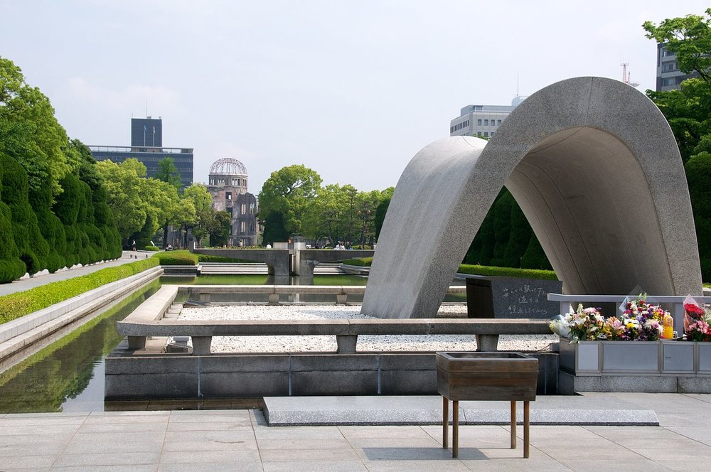 Hiroshima Peace Memorial Park - Image Credit: BriYYZ/WikimediaCommons