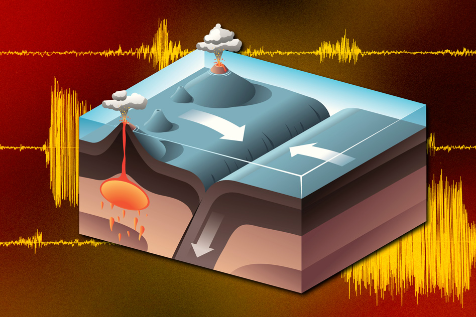 New findings suggest the ancient Earth harbored a mantle that was much more efficient at drawing down pieces of the planet's crust. - Image Credit: MIT News