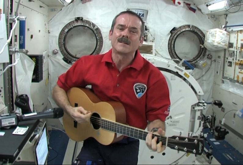 Canadian astronaut Chris Hadfield, the first Canadian to serve as commander of the ISS. - Image Credit: CTV