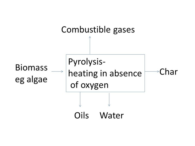 Pyrolysis inputs and outputs. Andrew Hopkins, Author provided