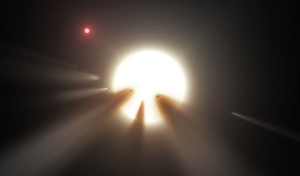 A new study indicates that in about a million years, a star will pass close to our Solar System, sending comets towards Earth and the other planets. - Image Credit: NASA/JPL-Caltech