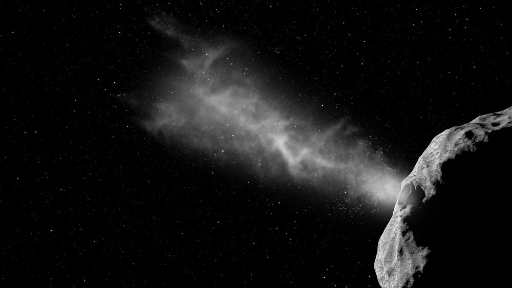 ESA's Asteroid Impact Mission, a candidate mission due for launch in 2020, will map the smaller body of the Didymos binary asteroid system down to 1 m resolution following its arrival in 2022. - Image Credit: ESA