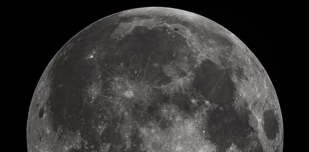 Full moon photographed from Earth. - Image Credit: Gregory H. Revera/wikimedia, CC BY-SA