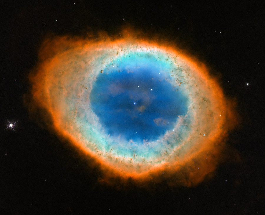 Hubble image of the Ring Nebula (aka. Messier 57). - Image Credit: NASA/ESA/ Hubble Heritage (STScI/AURA) – ESA /Hubble Collaboration