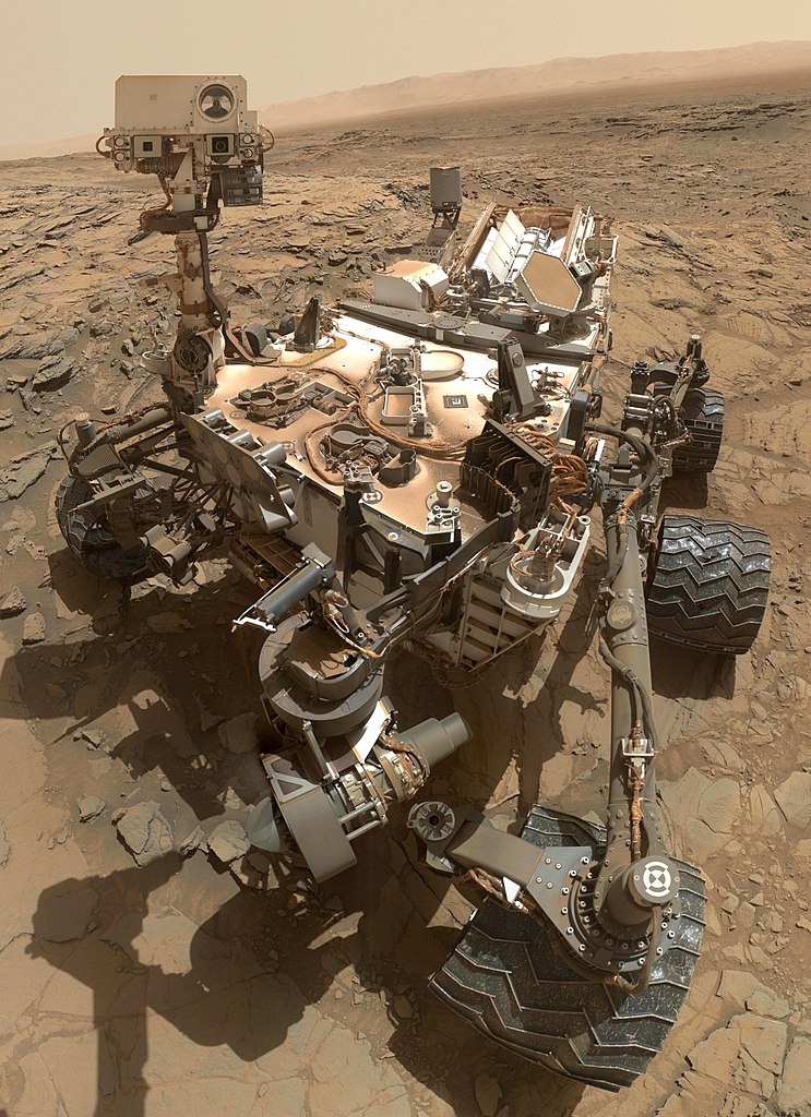 Here Rover - Image Credit: NASA via Wikimedia Commons