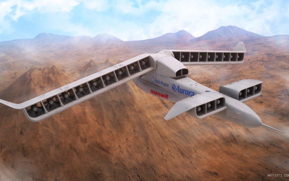 Image Credit:Aurora Flight Sciences