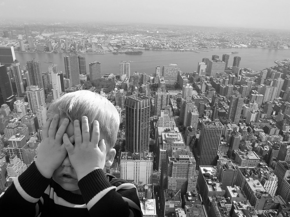 Don't look down … do we develop a fear of heights because of past bad experiences or are some of us just born that way? - Image Credit: Alexas_Fotos/pixabay