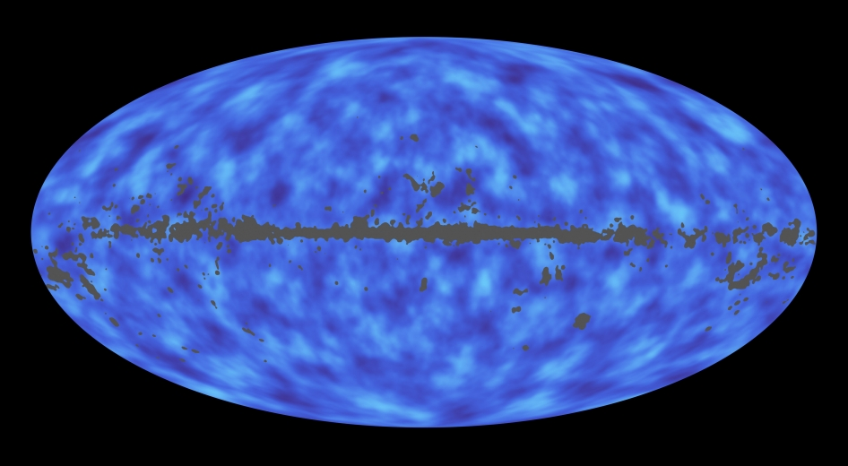 Map of all matter – most of which is invisible dark matter – between Earth and the edge of the observable universe. - Image Credit:  ESA/NASA/JPL-Caltech ,  CC BY