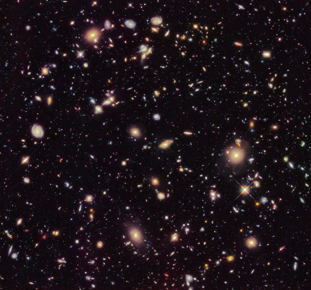 Image Credit:NASA, ESA, R. Ellis (Caltech), and the HUDF 2012 Team