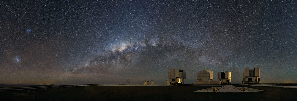 A galactic view from the observation deck - Image Credit: ESO