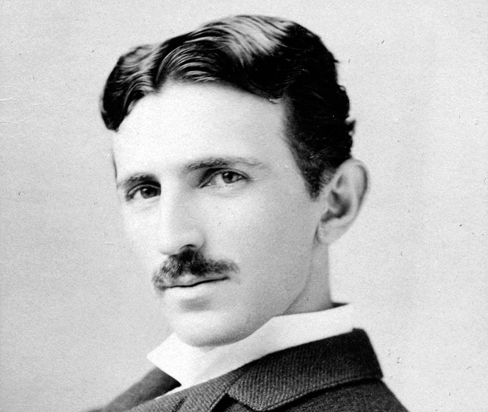 Nikola Tesla, electrical entrepreneur, circa 1893. - Image Credit:  Napoleon Sarony via Wikimedia Commons