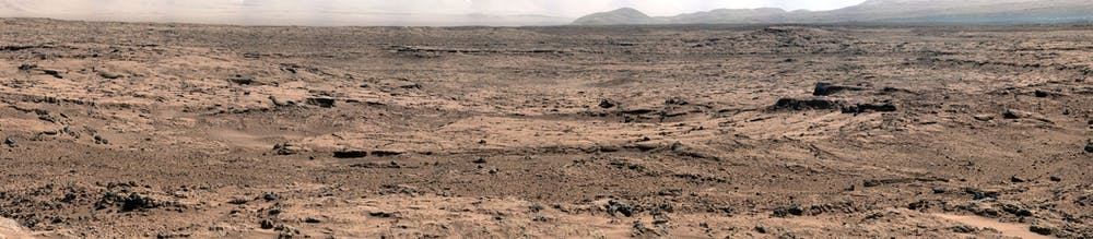 Panorama of Mars taken by the Opportunity rover. - Image Credit: NASA/JPL-Caltech/Malin Space Science Systems