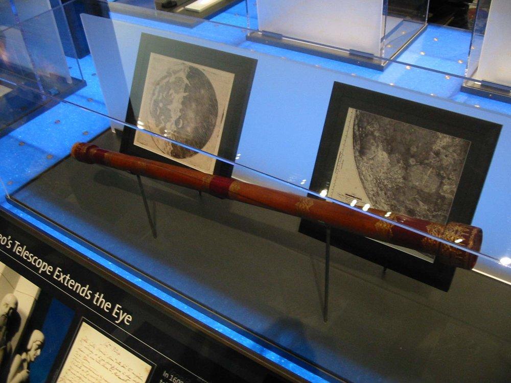 Galileo telescope replica - Image Credit:  Michael Dunn via Wikimedia Commons