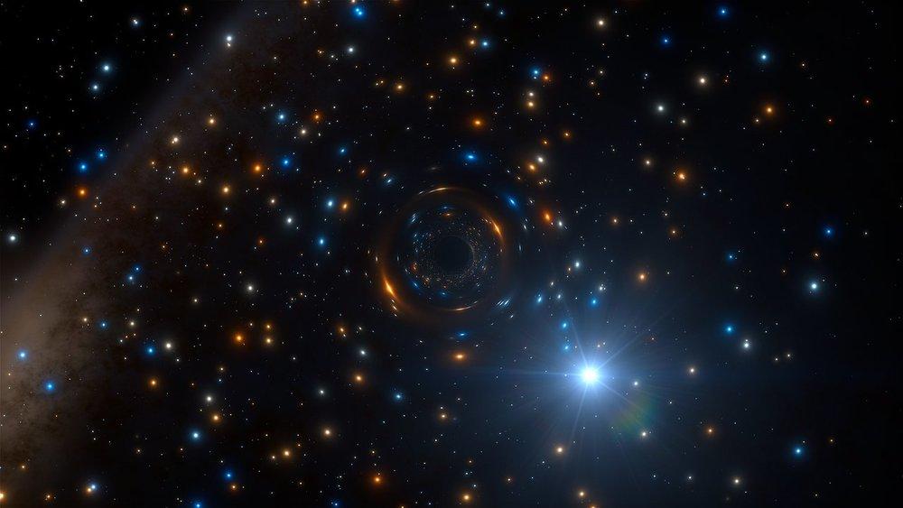 Image Credit: ESO/L. Calçada/ spaceengine.org