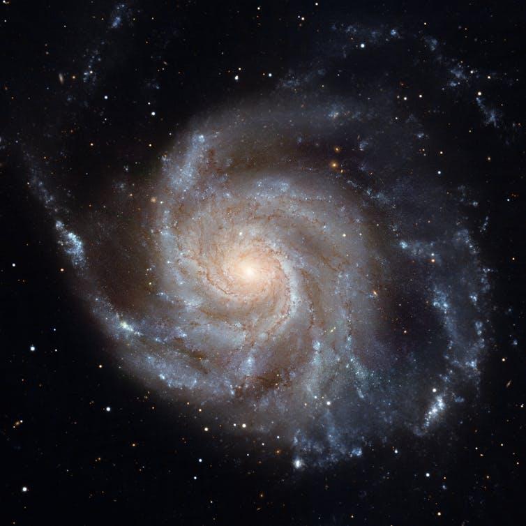 Disc galaxy Messier 101. - Image Credit: NASA, ESA, CXC, SSC, and STScI