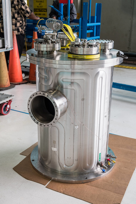 NASA's Kilopower Power System. - Image Credit: NASA (click to enlarge)