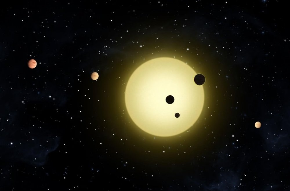Using the Transit Method, a team of astronomers has found a way to determine the presence of mountains and other features on exoplanets. - Image Credit: NASA/Tim Pyle