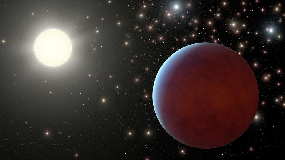 Artist Impression of an exoplanet - Image Credit:  NASA