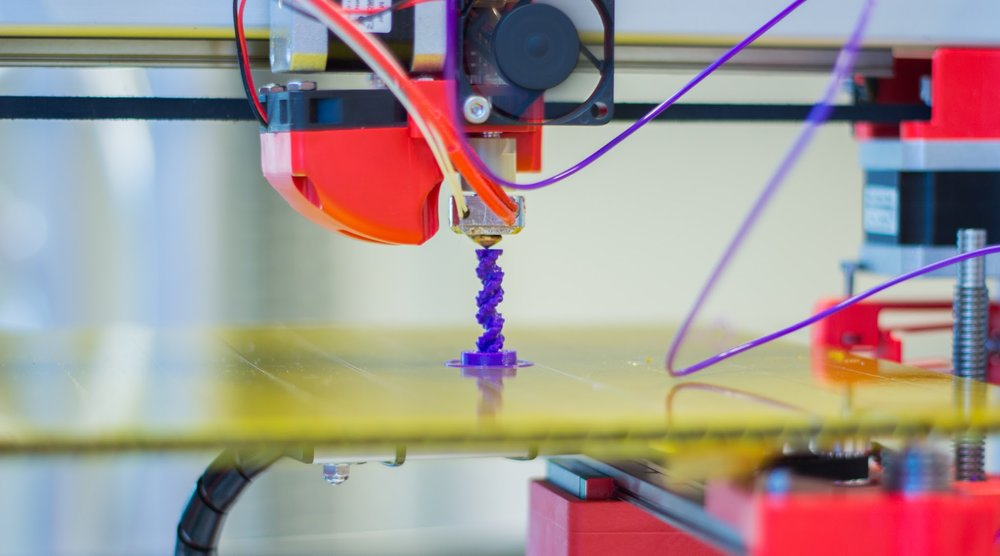 A 3D printer in use - Image Credit: Jonathan Juursema via Wikimedia Commons