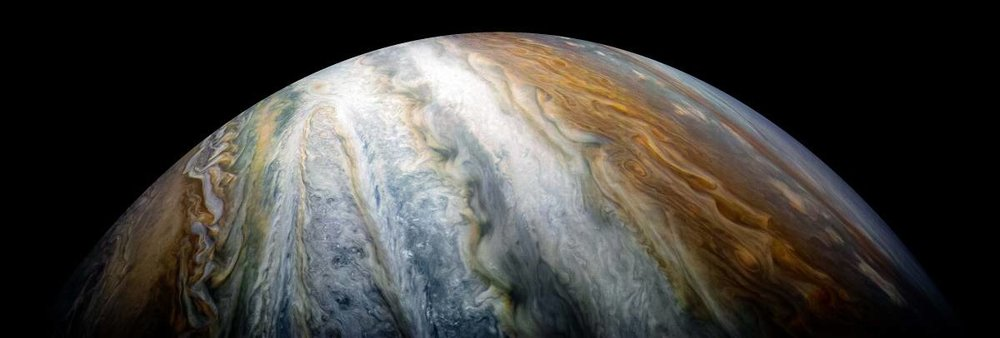 Jupiter's colorful stripes are cloud belts that extend thousand of kilometers deep. - Image Credit: NASA/JPL-Caltech/SwRI/MSSS/Kevin M. Gill