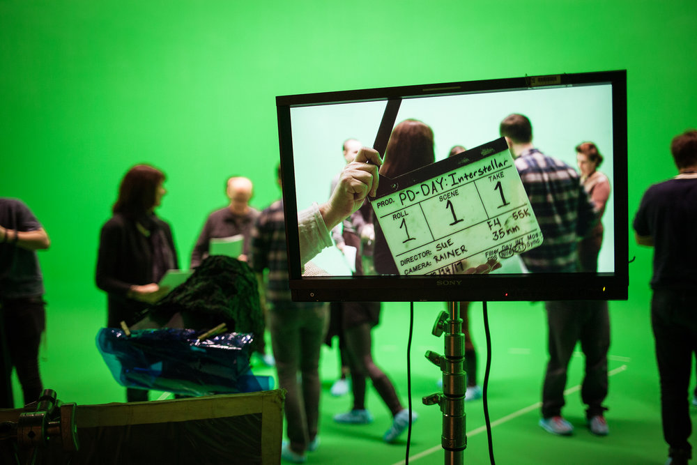 Green screen technology has become a common feature of film and TV production.  Vancouver Film School/Flickr ,  CC BY-SA