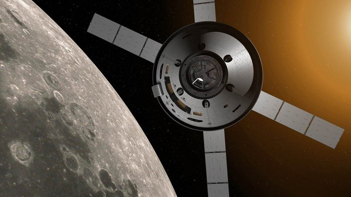 NASA's Orion spacecraft will carry astronauts further into space than ever before using a module based on Europe's Automated Transfer Vehicles (ATV). - Image Credit: NASA