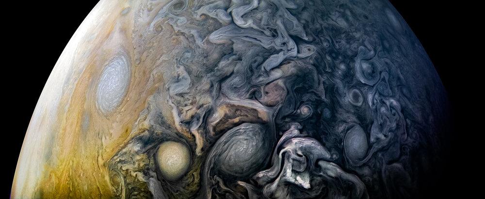 Image credits: NASA/JPL-Caltech/SwRI/MSSS/Kevin M. Gill