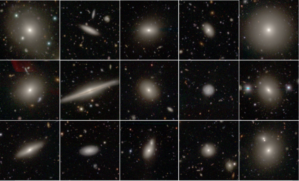 A selection of SAMI galaxies imaged with the Hyper Suprime Cam on the Subaru Telescope in Hawaii. National - Image Credit: Astronomical Observatory of Japan (NAOJ), Caroline Foster (The University of Sydney) and Dan Taranu (University of Western Australia)