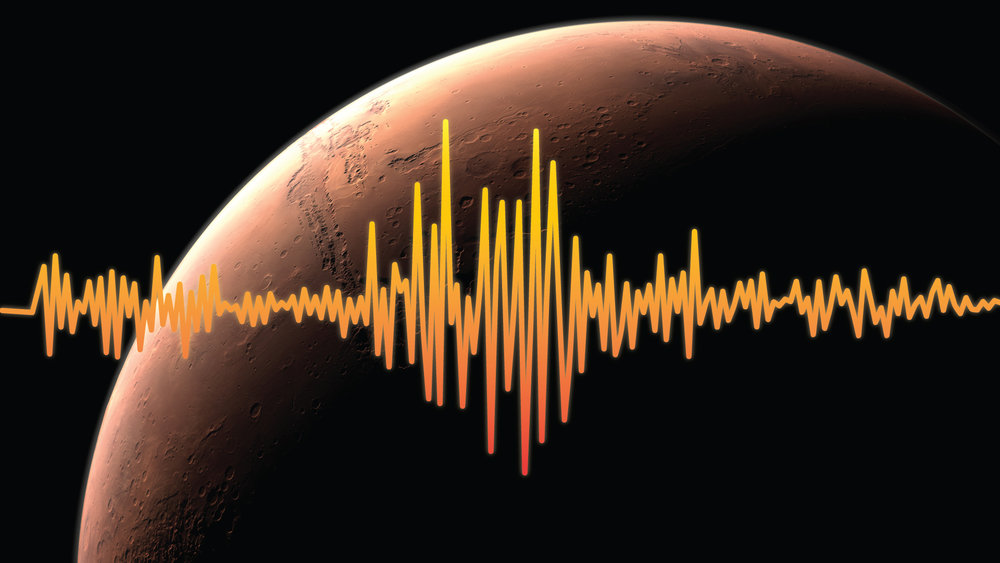 InSight aims to figure out just how tectonically active Mars is, and how often meteorites impact it. - Image Credit: NASA