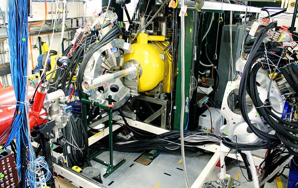 Modern nucleosynthesis experiments, like those of the authors, are run on nuclear physics equipment including particle accelerators. - Image Credit:  National Superconducting Cyclotron Laboratory,  CC BY-ND