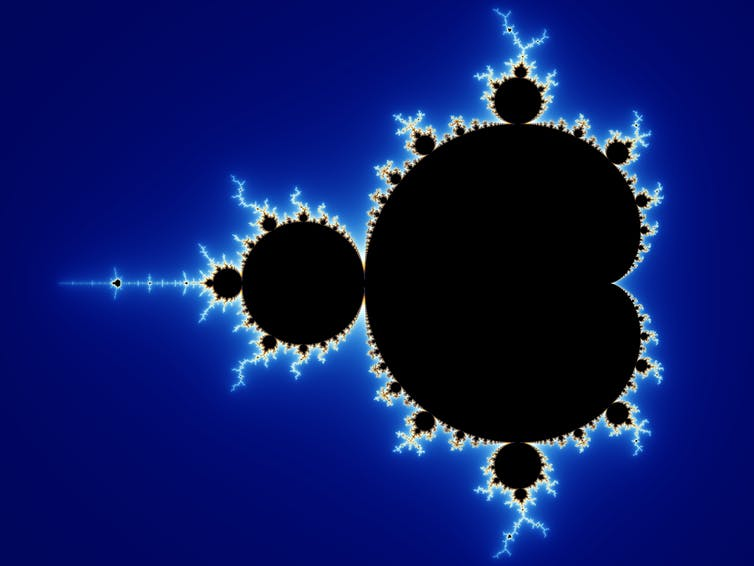 Fractals are often used to explain how the multiverse may behave. - Image Credit: Wolfgang Beyer/wikipedia,  CC BY-SA