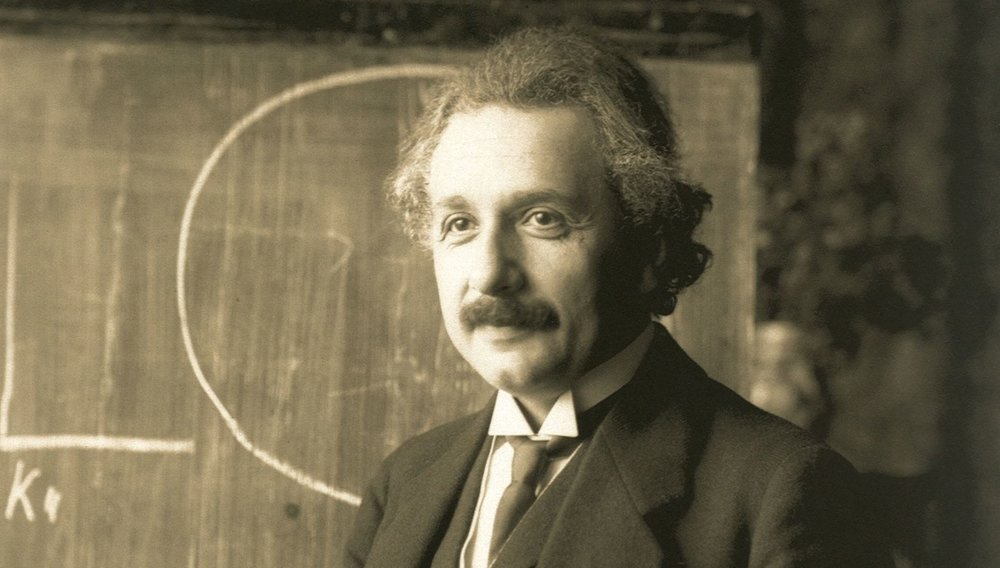 Albert Einstein during a lecture in Vienna in 1921 -  Image Credit:   National Library of Austria/F. Schmutzer/Public Domain via Wikimedia Commons