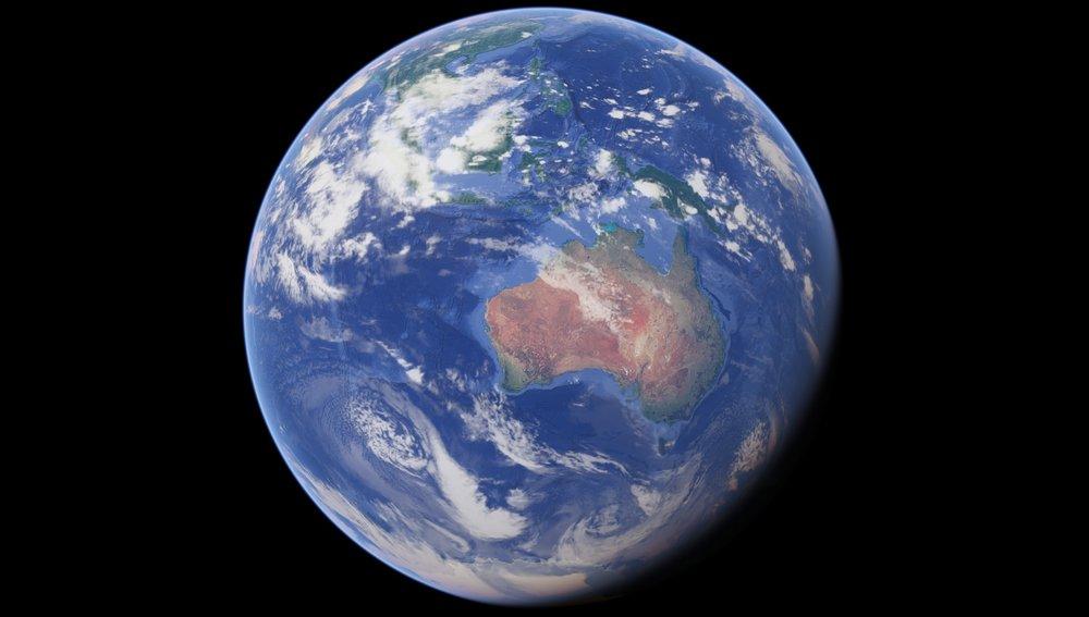 A promise of new jobs from Australia's new space agency. - Image Credit: Google Earth / Data SIO, NOAA, U.S. Navy, NGA, GeBCO, Landsat / Copernicus, U.S. Geological Survey, PGC/NASA - Map data: Google, SK telecom, ZENRIN