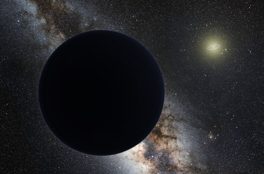 Artist's concept of Planet Nine - Image Credit:  Tom Ruen via Wikimedia Commons