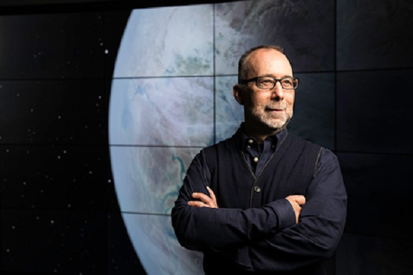 Professor Adam Frank, who led the study in how civilization-planet systems evolve. - Image Credit: University of Rochester photo / J. Adam Fenster