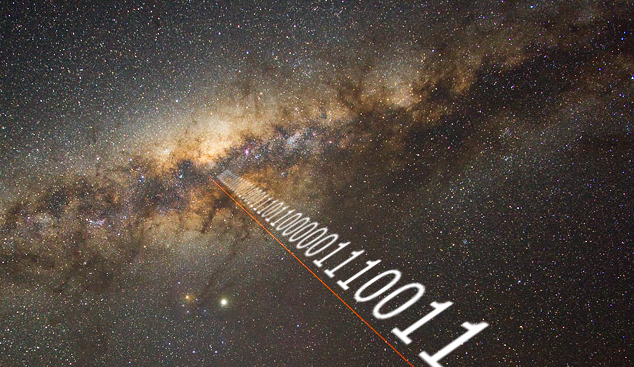 Is anybody out there? Anybody at all? - Image Credit: UCLA SETI Group/Yuri Beletsky, Carnegie Las Campanas Observatory