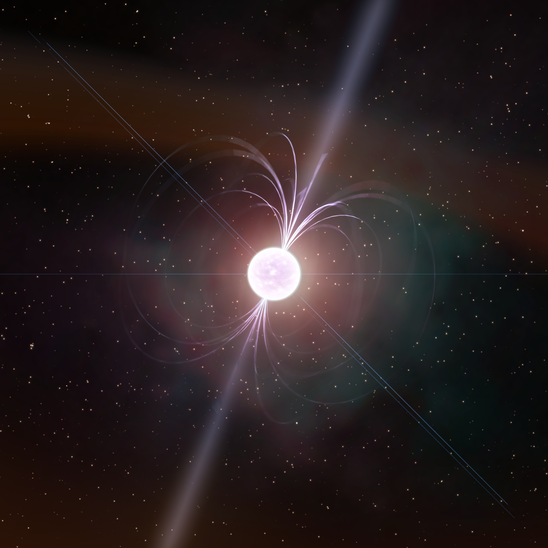 Triple star system involving a pulsar suggests Einstein was right. - Image Credit: Kevin Gill/Flickr, CC BY-ND