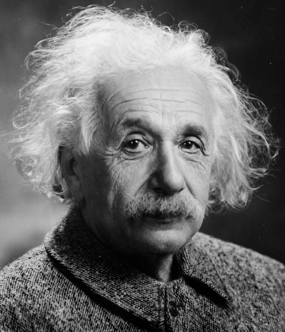 Albert Einstein in 1947 _ image Credit:  Orren Jack Turner, modified by PM/Poon and Dantadd via Wikimedia Commons