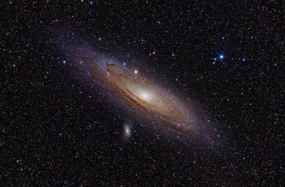 Andromeda Galaxy. Image Credit:  Adam Evans via Wikimedia Commons