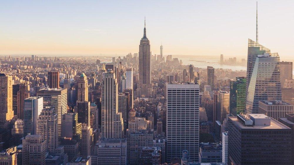 New York skyline - Image Credit:  Jonathan Riley via Unsplash