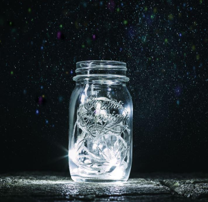 How do things in nature – like flashing fireflies – spontaneously synchronize? - Image Credit:  BarbaraALane via Pixabay