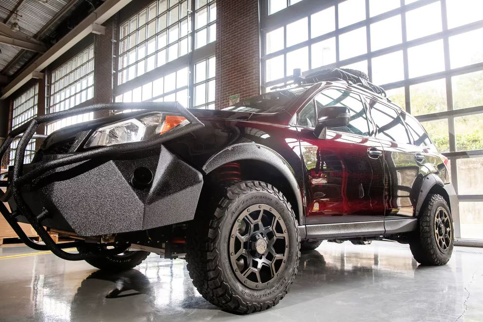 The Halo Project car can collect data about driving and navigating in rugged terrain.- Image Credit: Beth Newman Wynn, Mississippi State University,Author provided