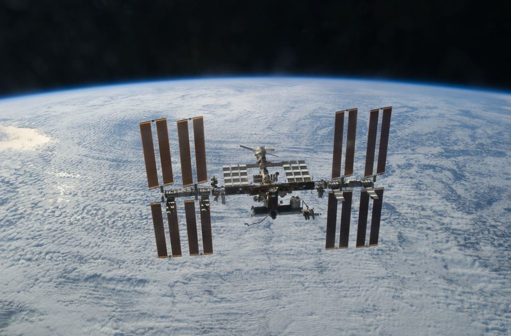 International Space Station -  Image Credit: NASA via Wikimedia Commons