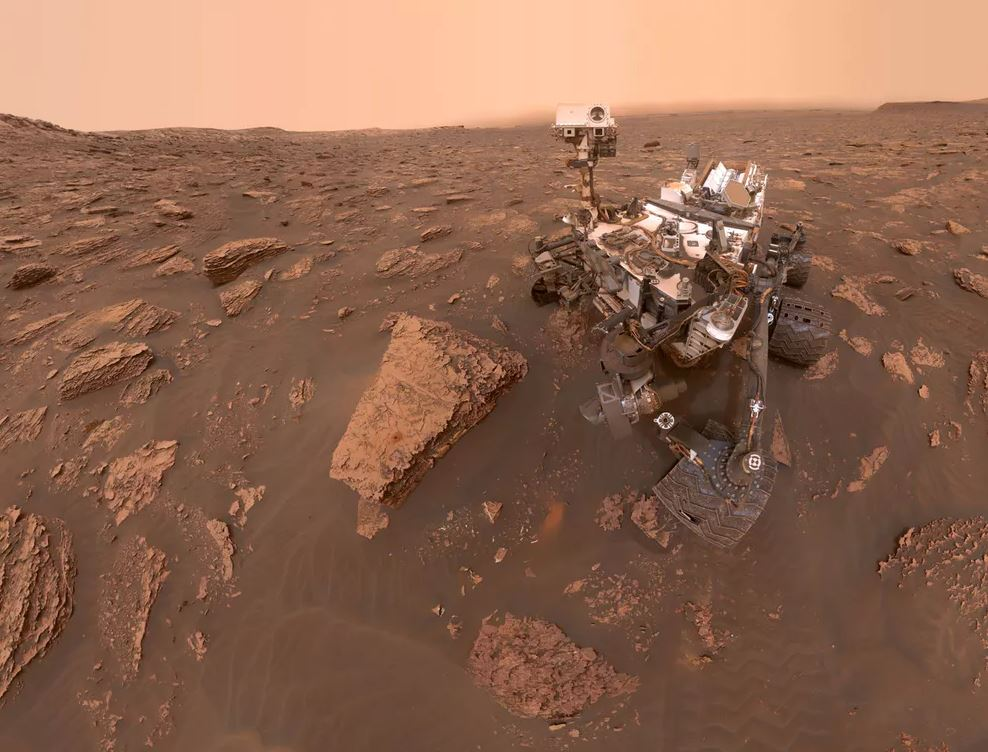 The finite speed of light presents some challenges for driving on Mars. - Image Credit:  NASA/JPL-Caltech/MSSS