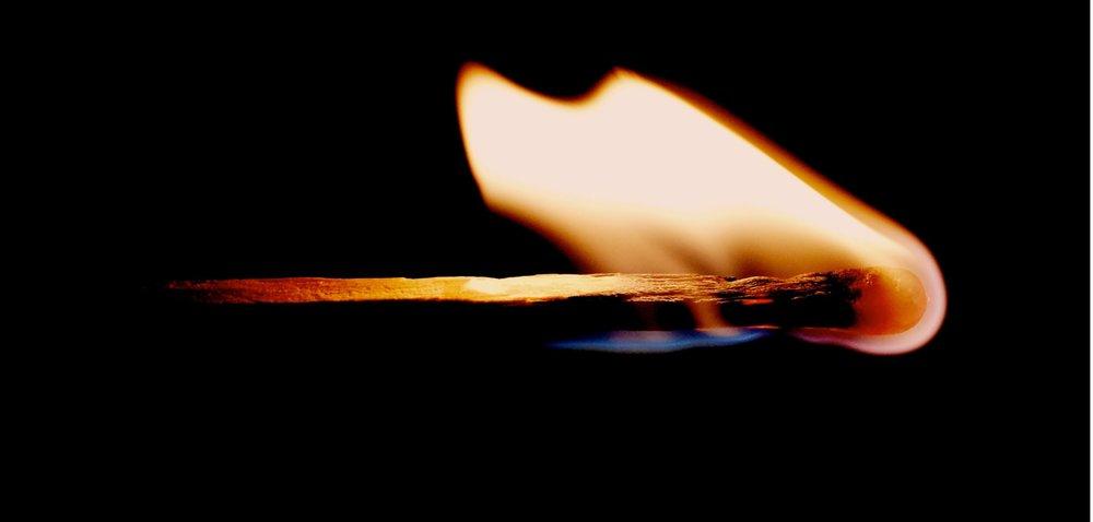 Old flame - Image Credit:  Yaoqi LAI via Unsplash