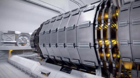Detector layout.- Image Credit: CERN