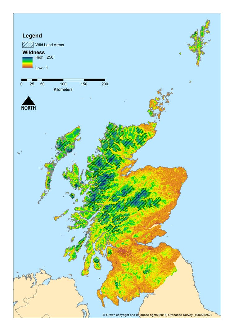 Scotland's wilderness. - Image Credit: Steve Carver, Author provided
