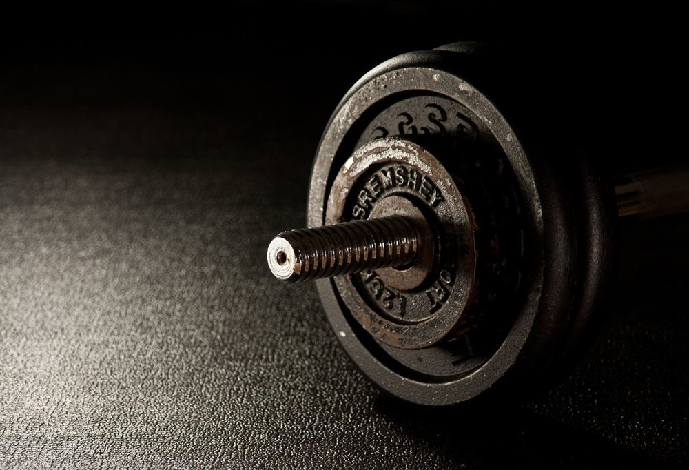 Not everyone enjoys weight lifting, so do what you prefer.  - Image Credit:  LouisBauer via Pixabay